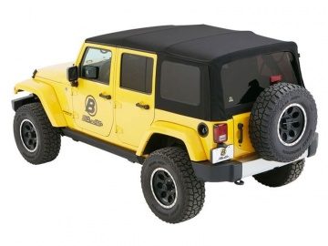CAPPOTTINA SUPER TOP NX BESTOP JEEP WRANGLER JK 4 PORTE