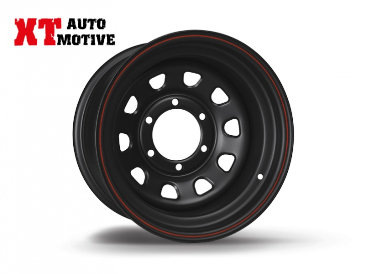 WHEEL 8x15 ET -30 DAYTONA BLACK FOR HYUNDAI
