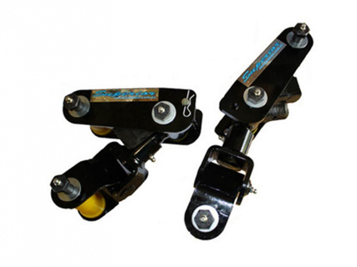 COPPIA BISCOTTINI DINAMICI DROP SHACKLES TOYOTA