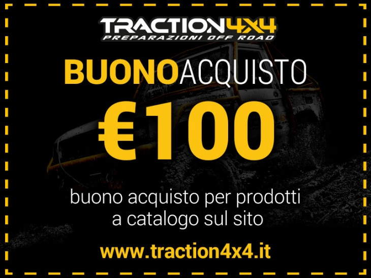 Traction 4x4 100 Euro Coupon Gift Card