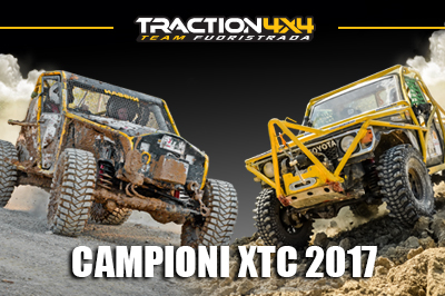 IL TEAM TRACTION4x4 VINCE IL CAMPIONATO XTC 2017