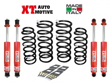 KIT DI RIALZO +6 CM COMPLETO XT AUTOMOTIVE PRO VERSION PER NISSAN PATROL GR Y60