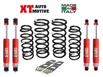 KIT DI RIALZO +6 CM COMPLETO XT AUTOMOTIVE RAID VERSION PER NISSAN PATROL GR Y60