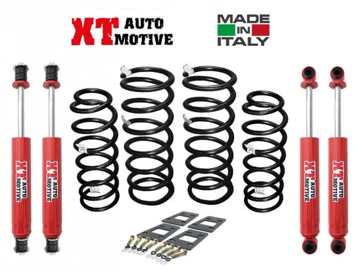 LIFT KIT +6CM XT AUTOMOTIVE FOR NISSAN PATROL GR Y61 SWB WITH WINCH