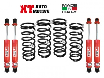 KIT DI RIALZO COMPLETO XT AUTOMOTIVE +4/5CM PRO VERSION PER LAND ROVER DEFENDER 90