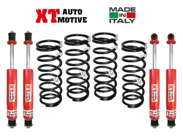 KIT DI RIALZO COMPLETO XT AUTOMOTIVE +4/5CM PRO VERSION PER LAND ROVER DEFENDER 110