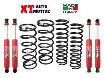 KIT DI RIALZO COMPLETO XT AUTOMOTIVE +6 CM PER MERCEDES G con VERRICELLO