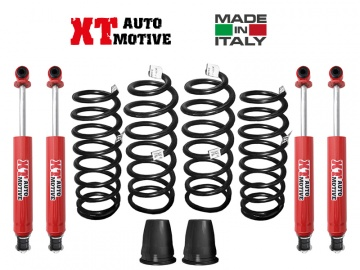 LIFT KIT XT AUTOMOTIVE +6 CM FOR TOYOTA LJ-KZJ 70/73 SQUARE LAMPS WITH WINCH WITH RELOCATION CONES