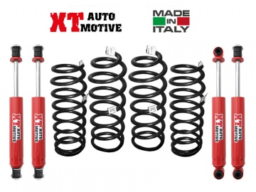 LIFT KIT XT AUTOMOTIVE + 6 CM FOR TOYOTA LJ70/73 ROUND LAMPS WITH WINCH