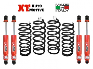 KIT DI RIALZO COMPLETO XT AUTOMOTIVE +6 CM PRO VERSION PER TOYOTA HDJ 80