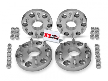 KIT ALUMINUM WHEEL SPACERS - MITSUBISHI PAJERO V60 AND V80 (from 2000) and NEW L200 (from 2006)