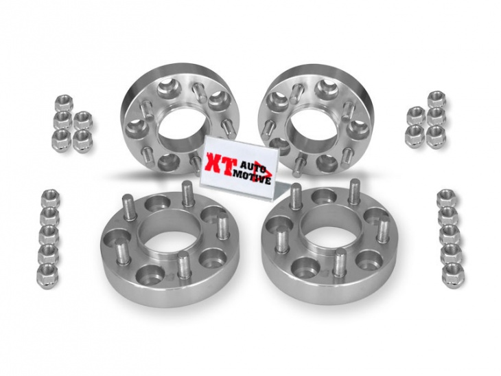 KIT ALUMINUM WHEEL SPACERS - JEEP