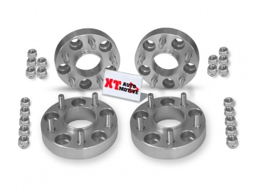 KIT ALUMINUM WHEEL SPACERS - LAND ROVER DISCOVERY 2 AND RANGE ROVER P38