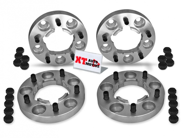KIT ALUMINUM WHEEL SPACERS - LAND ROVER