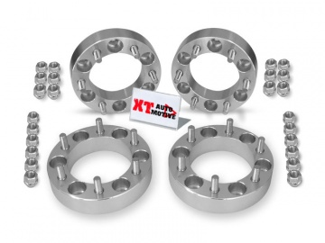 KIT ALUMINUM WHEEL SPACERS - MITSUBISHI L200 (UP TO 2005), PAJERO (up to 2000) AND PAJERO SPORT
