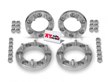 KIT ALUMINUM WHEEL SPACERS - MITSUBISHI L200 AND PAJERO (up to 2000) AND PAJERO SPORT 30MM