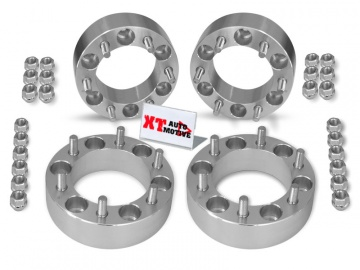 KIT ALUMINUM WHEEL SPACERS - MITSUBISHI L200 AND PAJERO (up to 2000) AND PAJERO SPORT 50MM