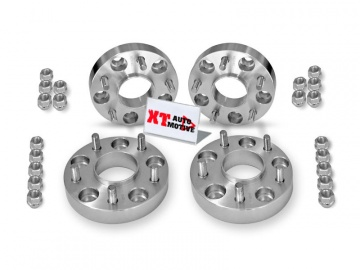 KIT ALUMINUM WHEEL SPACERS - MITSUBISHI PAJERO PININ