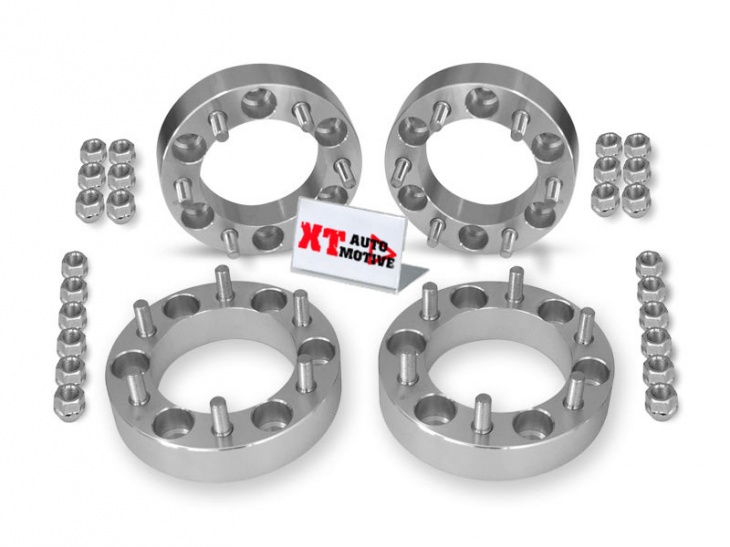 KIT ALUMINUM WHEEL SPACERS - NISSAN