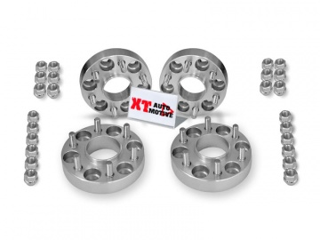 KIT ALUMINUM WHEEL SPACERS - NISSAN NAVARA D40