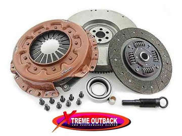 HEAVY DUTY CLUTCH AND FLYWHEEL KIT XTREME OUTBACK STAGE 1A FOR NISSAN PATROL GR Y61 2.8 TD