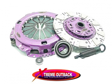 HEAVY DUTY CUSHIONED CERAMIC CLUTCH KIT XTREME OUTBACK STAGE 2 FOR TOYOTA LJ70/73 SQUARE LAMPS