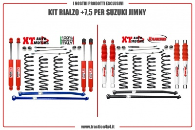 LIFT KIT +7,5 FOR SUZUKI JIMNY