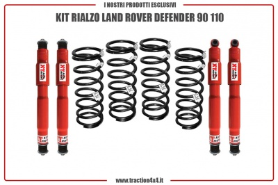 KIT RIALZO LAND ROVER DEFENDER 90 110