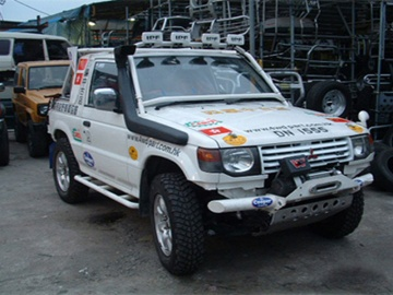 SNORKEL RV FOR MITSUBISHI PAJERO SERIES V20 FROM 1991 TO 1997