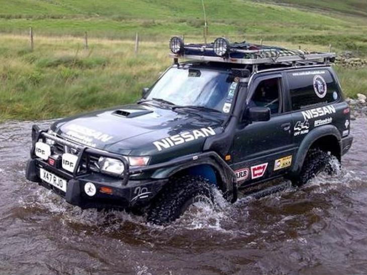 Traction 4x4 snorkel rv per nissan patrol gr y61 3 0td for Nissan offerte speciali